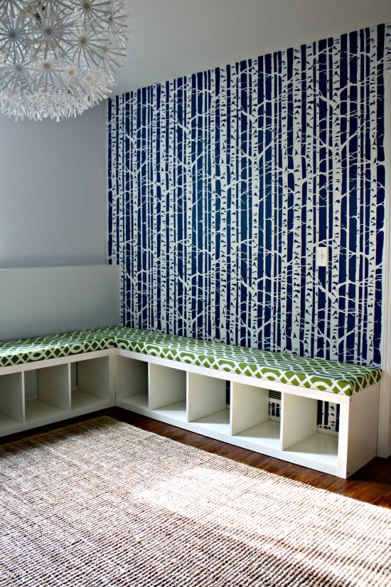 Replace The Sideboard And Turn Bookshelves Into Benches