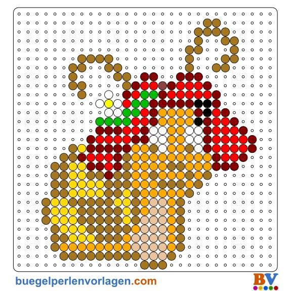 Inspiration 16 Hama Bugelperlen Vorlagen Midi Ebay