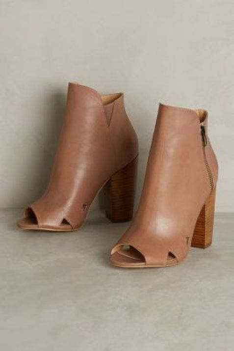 Kelsi Dagger Brasilia Shooties Nude Boots #anthrofave #anthropologie
