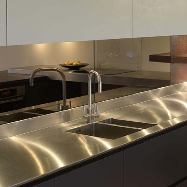 Mirror Glass Splashback Kitchen Dining Pinterest