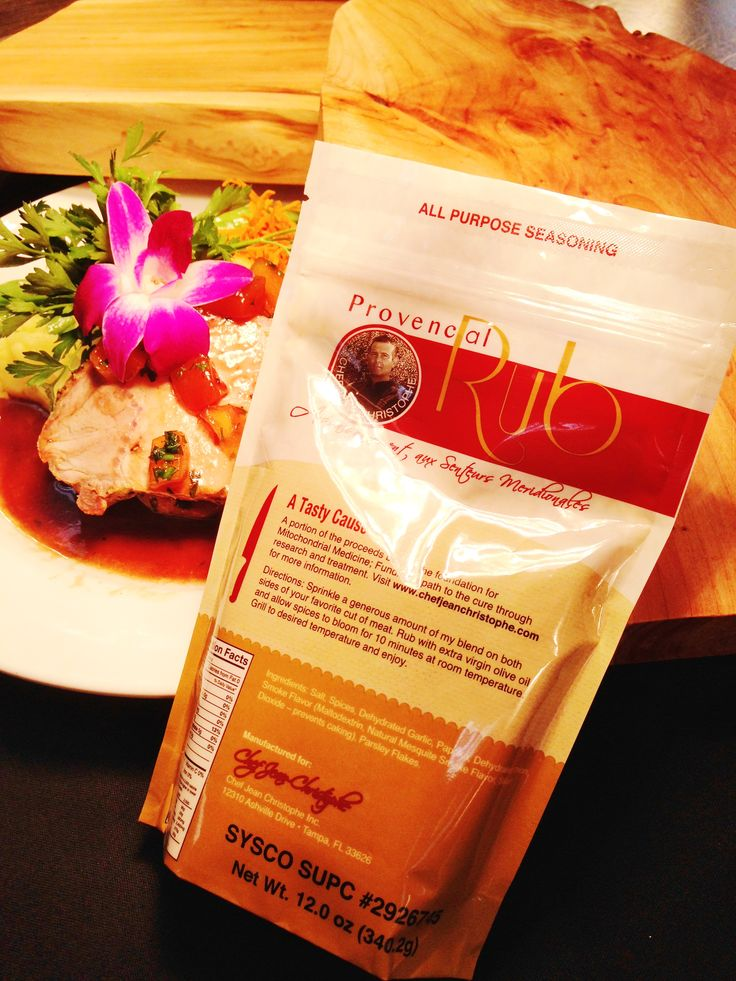 Our Provencal Rub, sold through Sysco Foods ChefX. SUPC