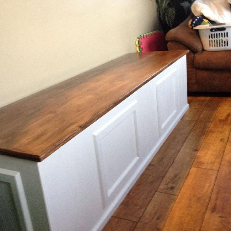 Diy Toy Box Bench ️ Diy Pinterest Toys And Diy And