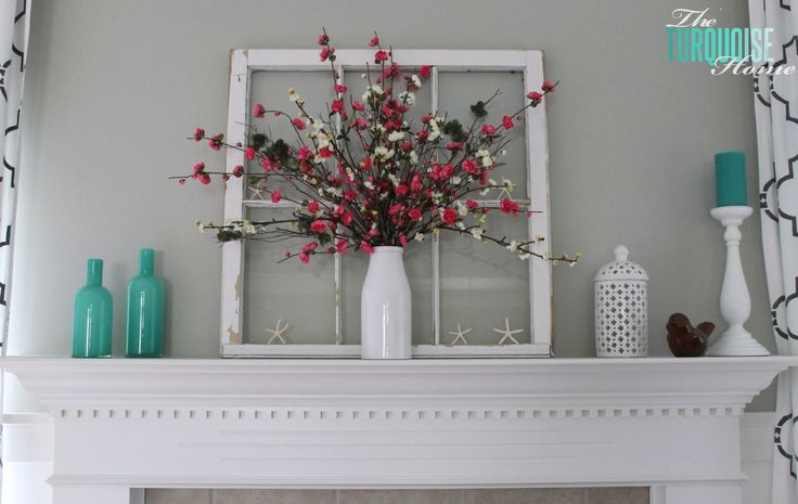 25+ Best Ideas About Summer Mantle Decor On Pinterest