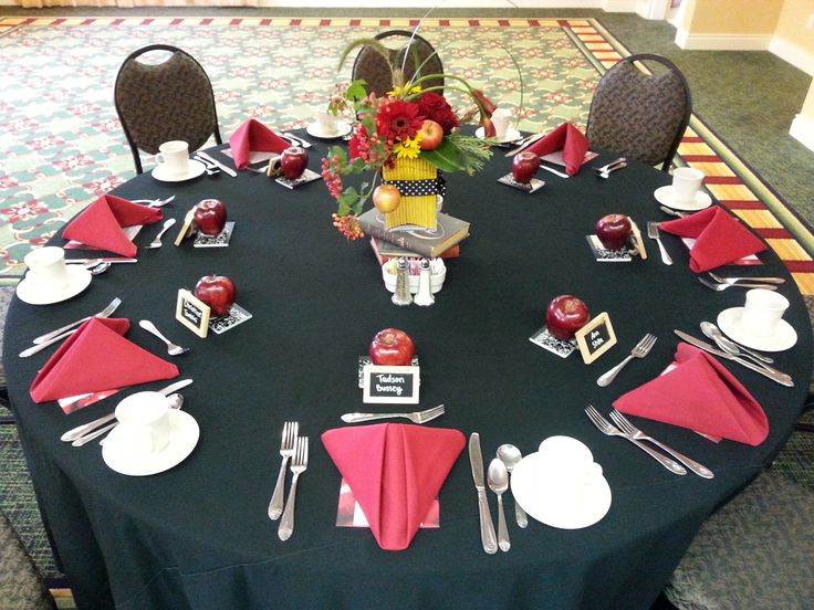 Back To School Themed Luncheon Social Events