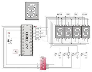 7segment LED displays Circuit Diagram | Electronic