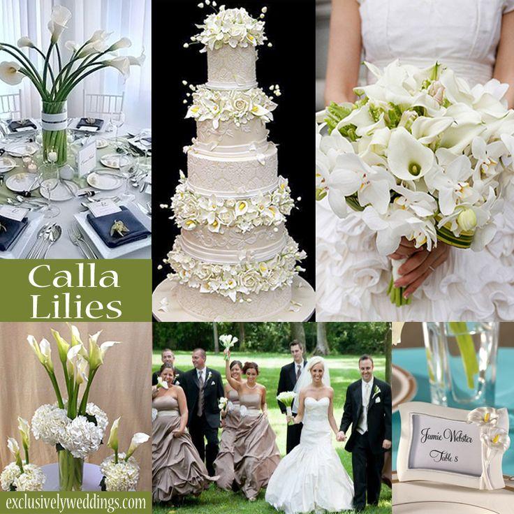 Wedding Calla Lily Decorations Pew