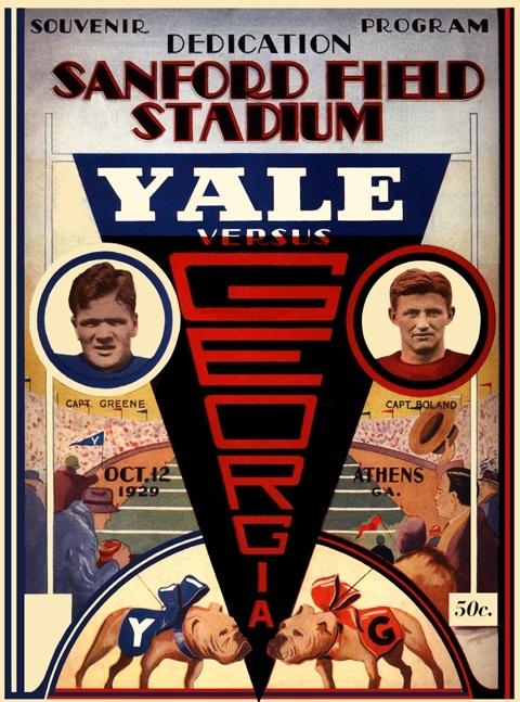 1929 opening of Sanford Field Stadium game
