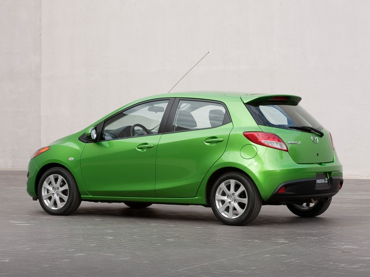 The Mazda2 Hatchback. Mean and green. Hatchback Auto