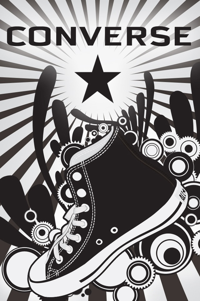 Converse vector wallpaper. Converse Pinterest