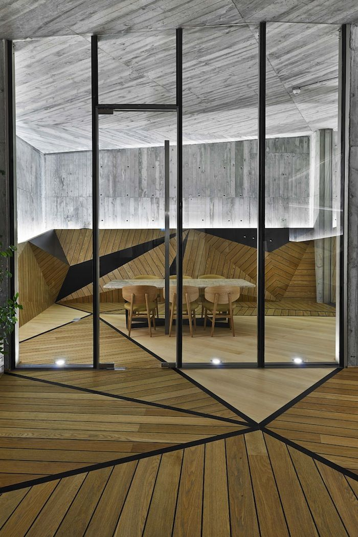 Architecture studio Autoban designed a modern geometric living complex in Istanbul. More on ignant.de...: