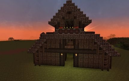 Medieval Barn Minecraft Pinterest Barns And Medieval
