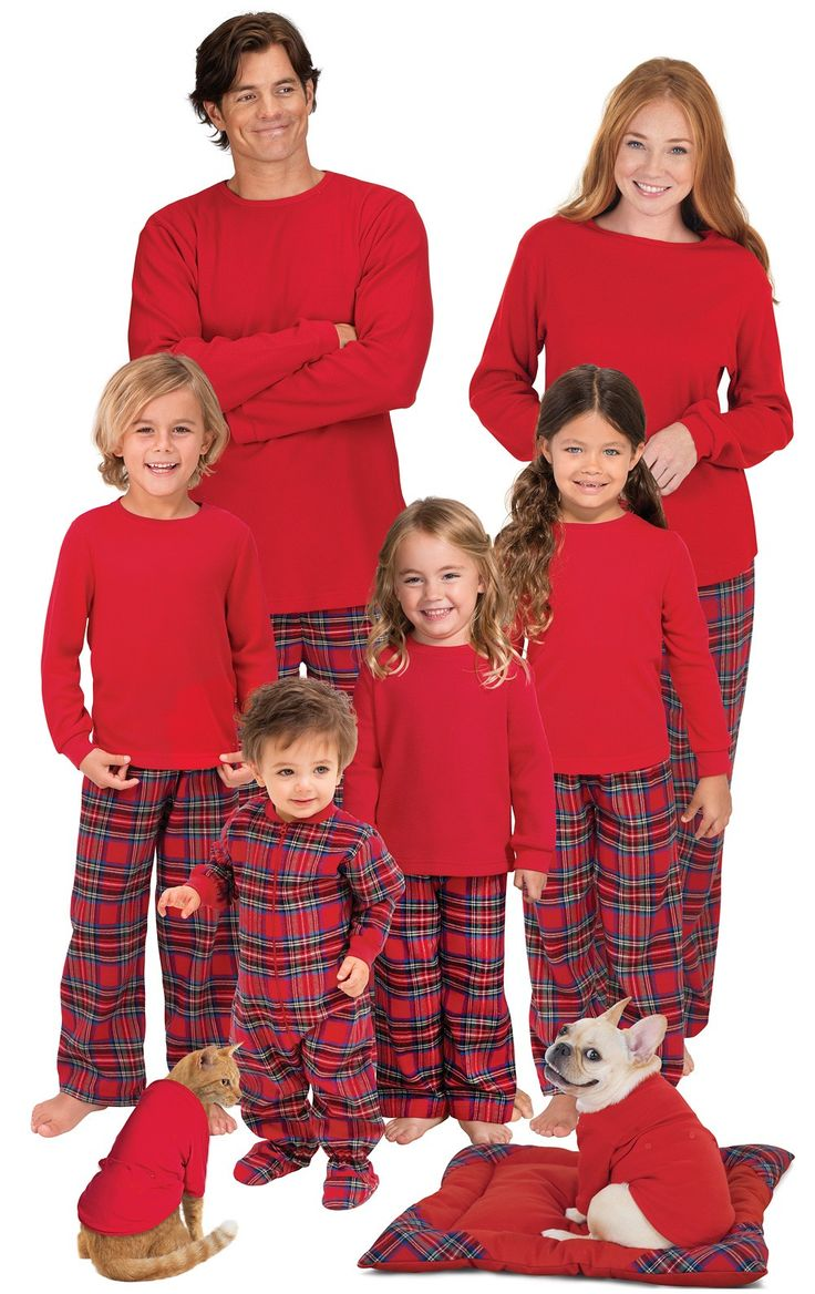 Stewart Plaid Flannel Matching Family Pajamas View All