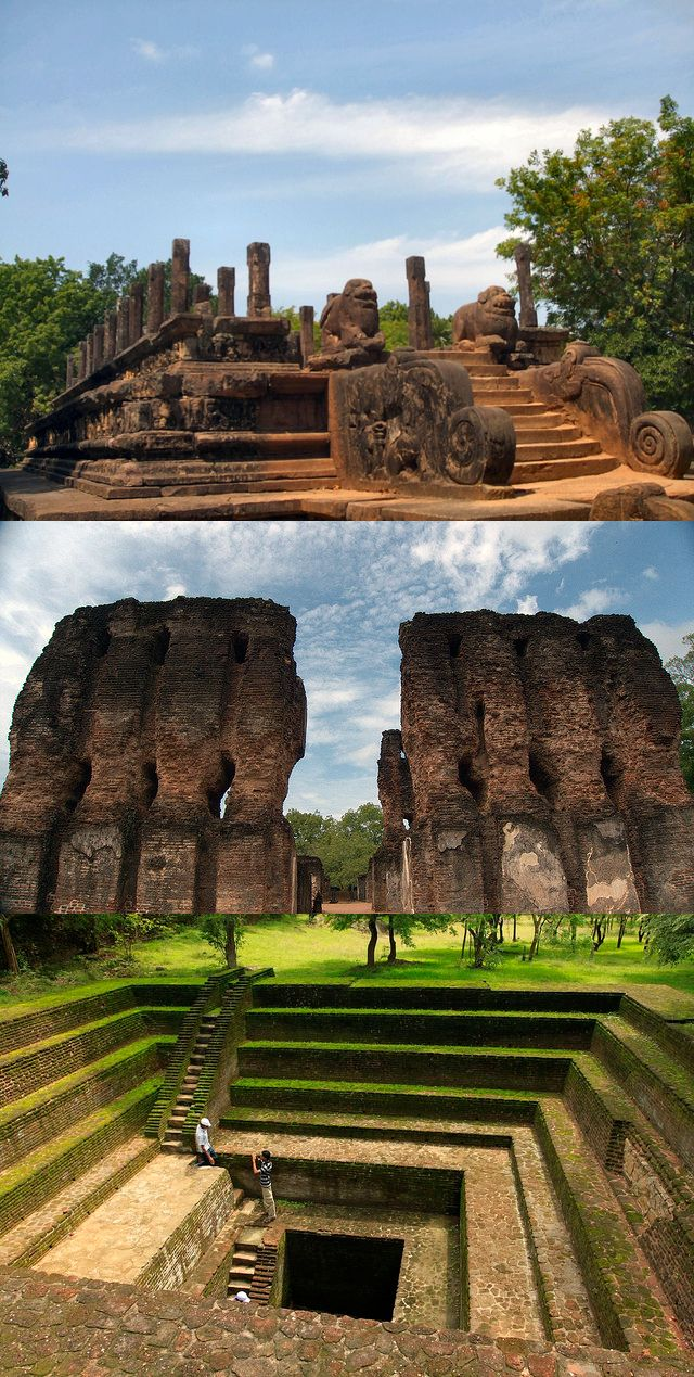 Ancient city of Polonnaruwa, Sri Lanka SriLanka