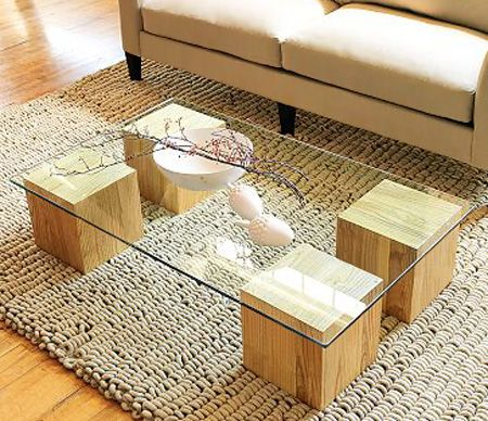 how to make coffee table from log 7
