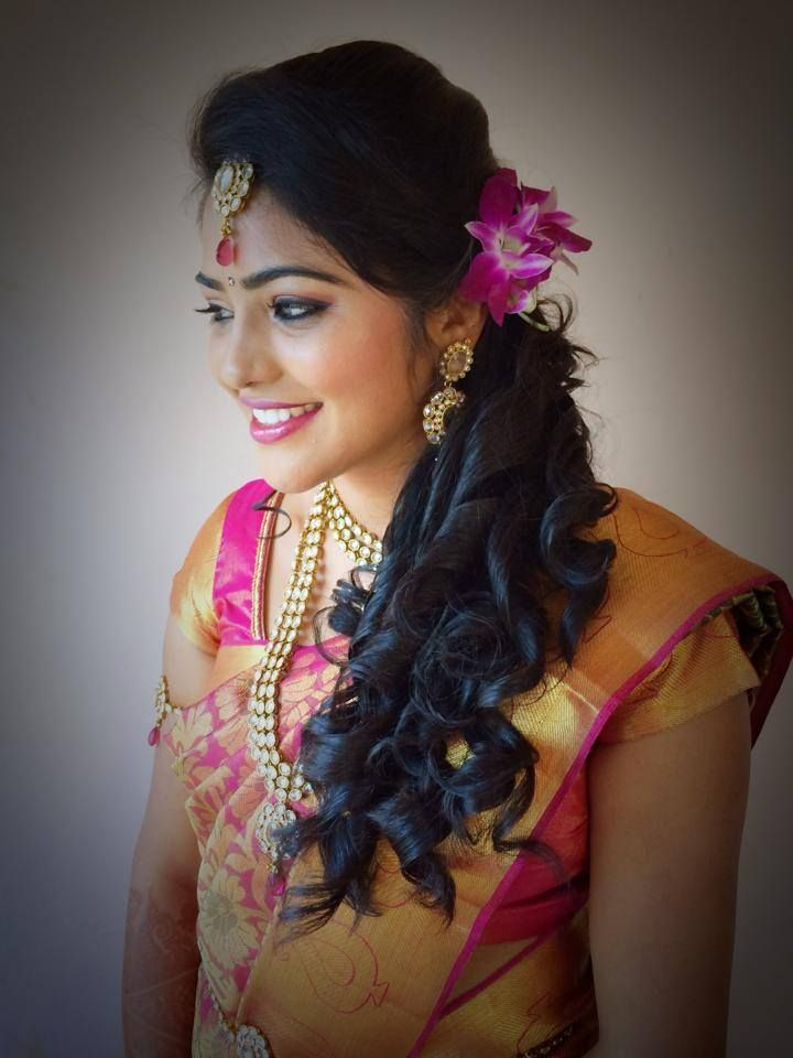 Indian Brides Bridal Hairstyle By Swank Studio Find Us