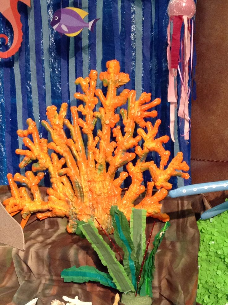 Spray Foam Coral Vacation Bible School Themes To Do