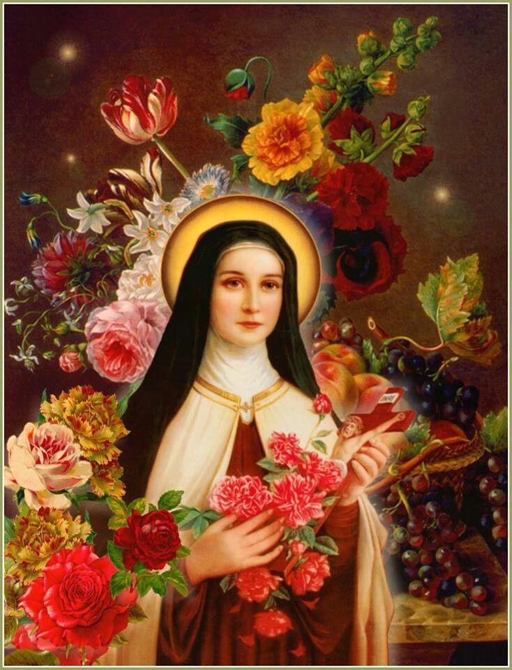 St. Theresa of Liseaux Jesus quotes Pinterest