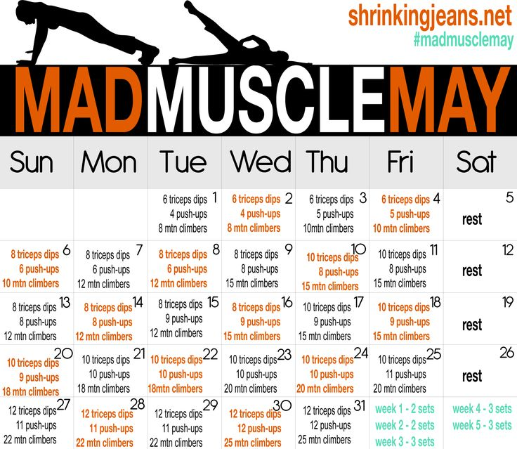 A buttkicking daily workout to build some MAD muscle