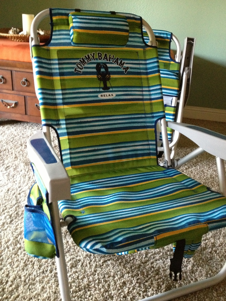 Tommy bahama beach chairs to go with my Lance Camper. From