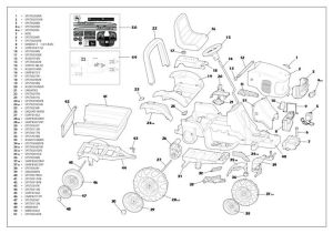 John Deere RX75 Parts Manual | parts schematic and parts list wiring diagram and electrical