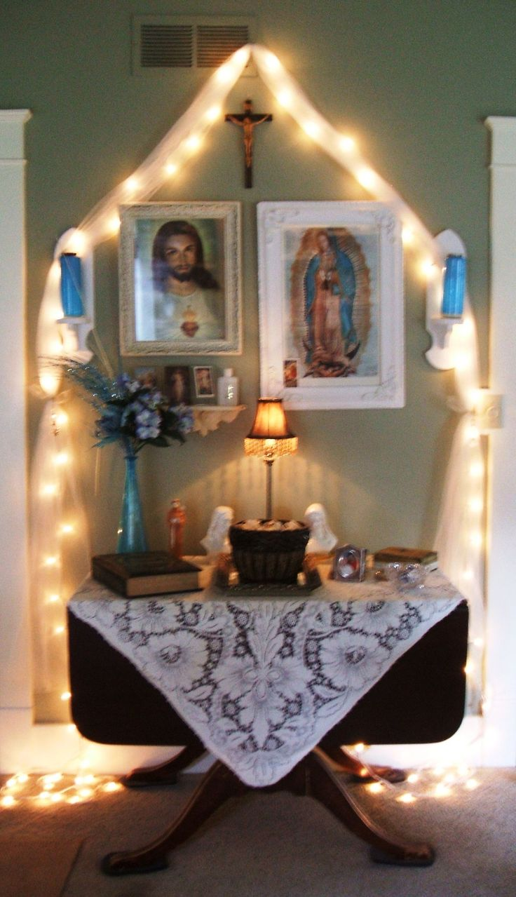 243 Best Images About Catholic Home Altars On Pinterest
