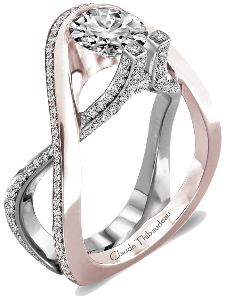 Claude Thibaudeau Engagement Ring Wedding Here Comes