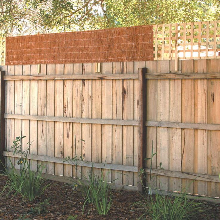 Garden Trend 0.5 x 2.4m Brushwood Fence Extension