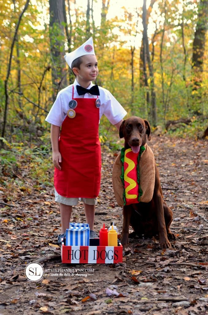 Hot Dog Vendor Costume Hot dogs, Halloween costumes and