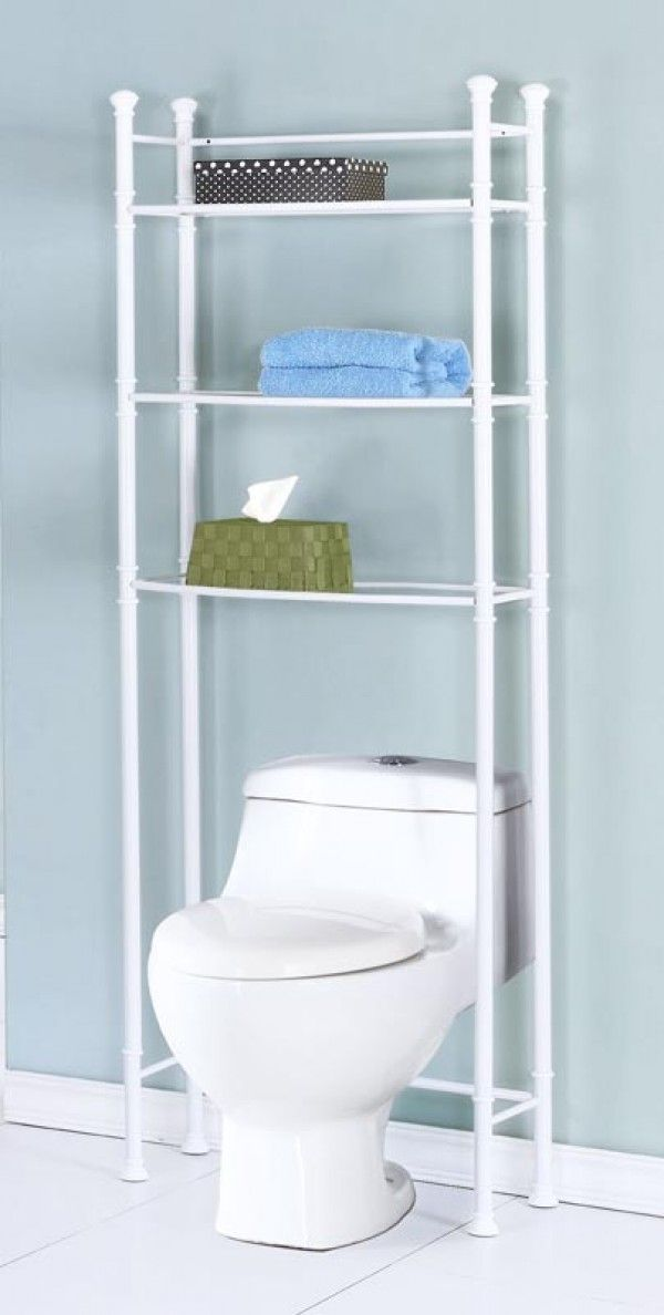 Ive Never Considered Building A Shelf Unit Out Of Pvc Pipe Before Bathroom Space Saver With