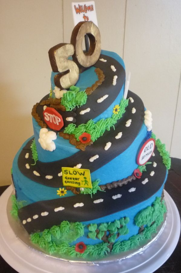 Over The Hill Birthday Cake Google Search Cakes