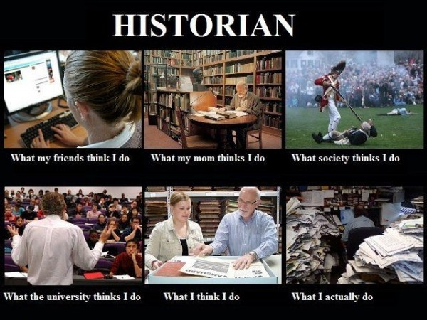 Here is a fun one for our History majorsHistorian Career