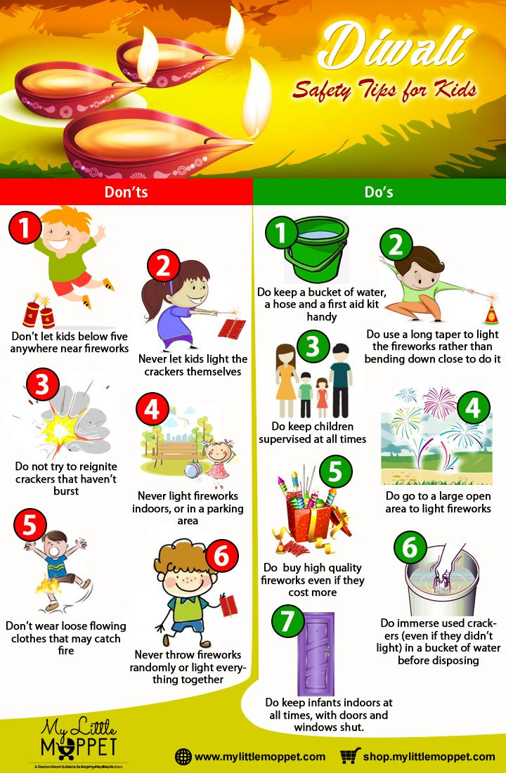 50 Tips for Celebrating a Safe Diwali Kid, Tips and Diwali
