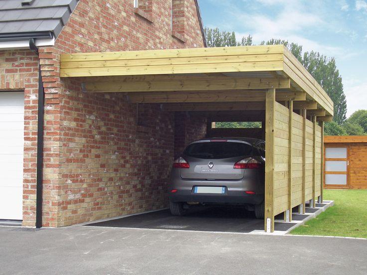 carport Carports Enkel carport modern DIY