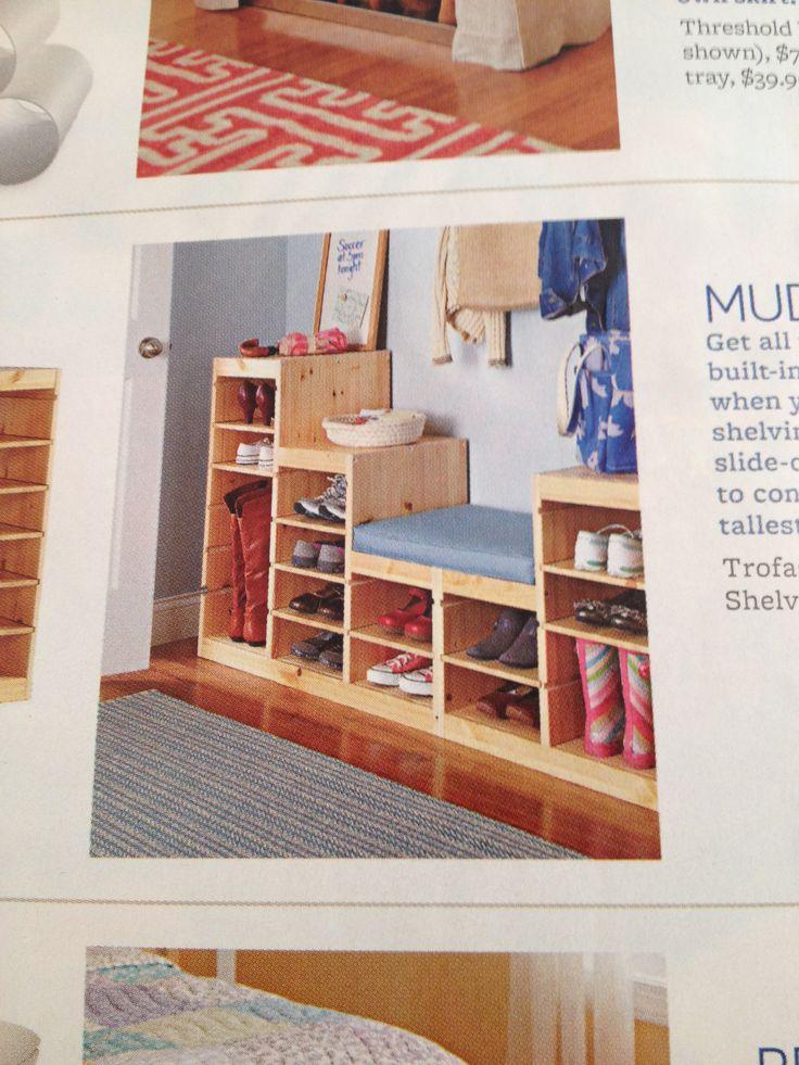 Mud Room Trofast Frames Amp Shelves From Ikea Great Idea