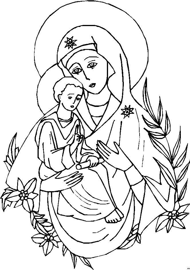 1000 images about catholic coloring pages on pinterest catholic