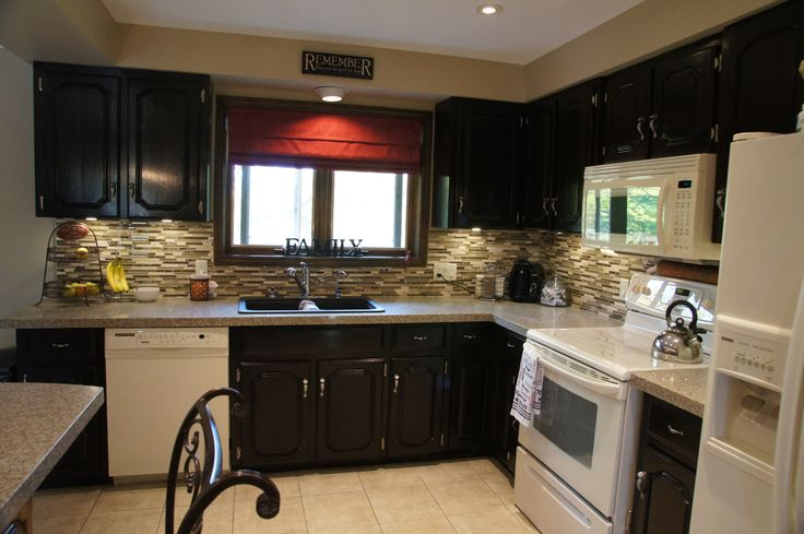Cabinet Colors With Black Appliances