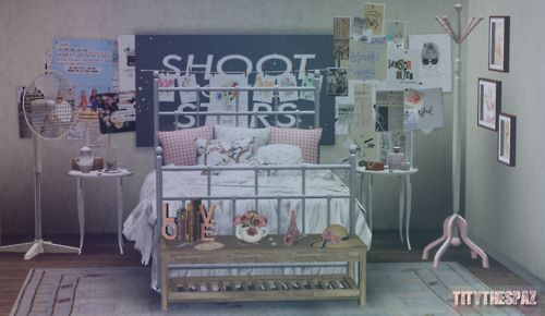 Adorable S Room Loving The Wall Decorations Sims 3 Sims4 Pinterest Set Posts And Sungles