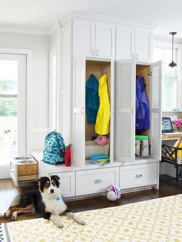 A Multifunctional Kitchen Mudroom And Hgtv