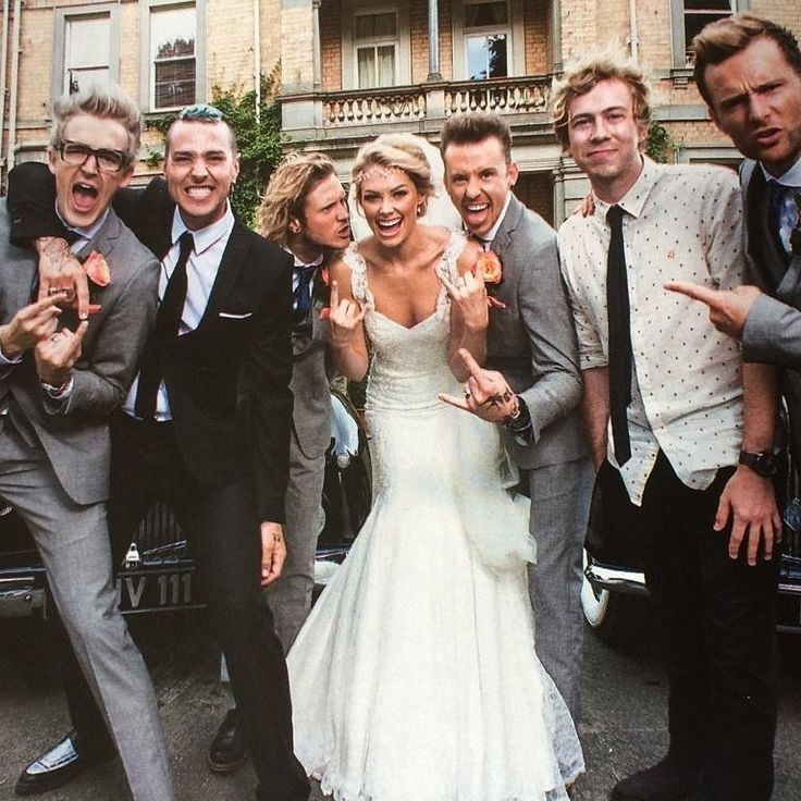 McBusted at Danny's wedding McFly Pinterest Wedding