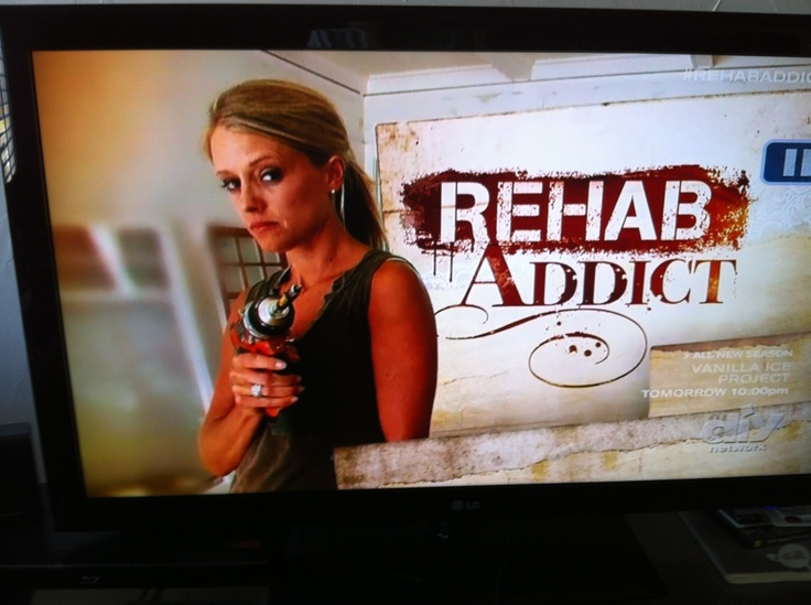 My favorite DIY show, Rehab Addict! TV shows I like