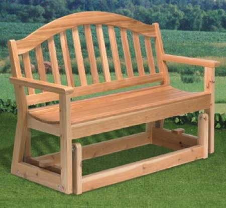 Loveseat Glider Rocker Plans WoodWorking Projects Amp Plans