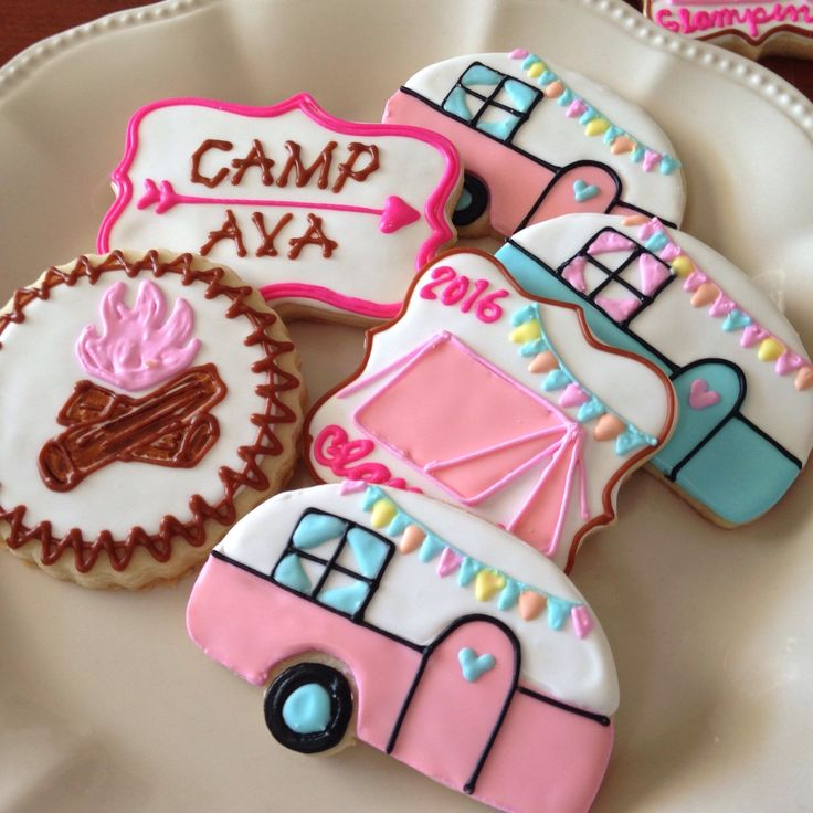 Glamping Cookies 1 Dozen Minimum 2 Weeks For Delivery