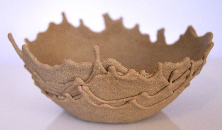Sand Bowls –  sand mixed wi