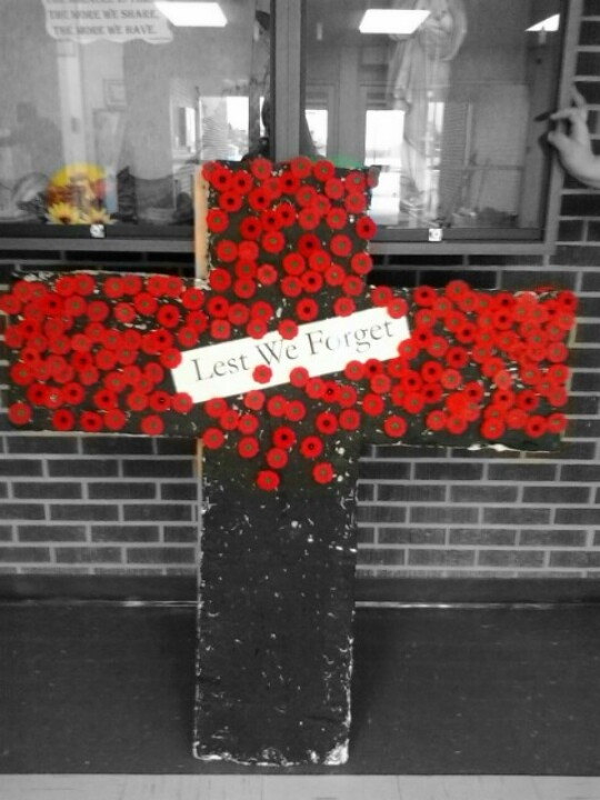 Rememberence Day Each Poppy Represents Each Kid That Goea