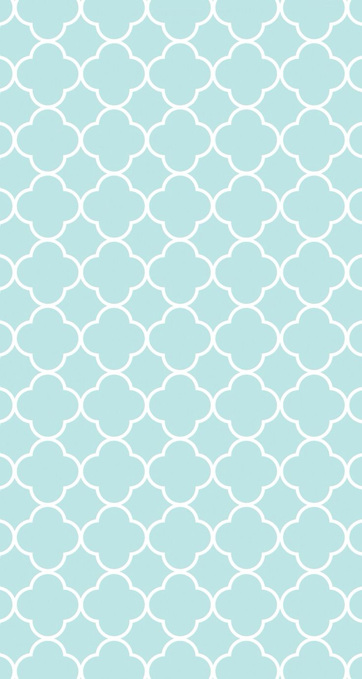 Quatrefoil Baby Blue IPhone 5 Girly Wallpapers