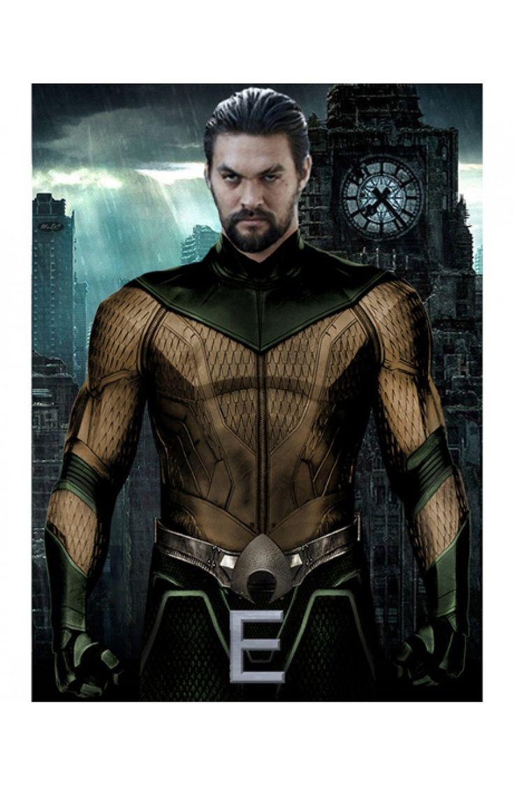 Jason Momoa Justice League Leather Jacket at Reasonable