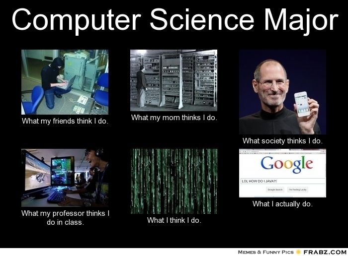 Computer Science Major... Meme Generator What i do