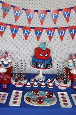 ideas fiesta hombre araña Spiderman