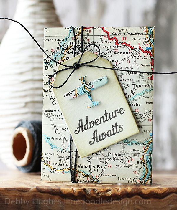 """adventure awaits"" present for a night away or even for just a fun day adventure:"