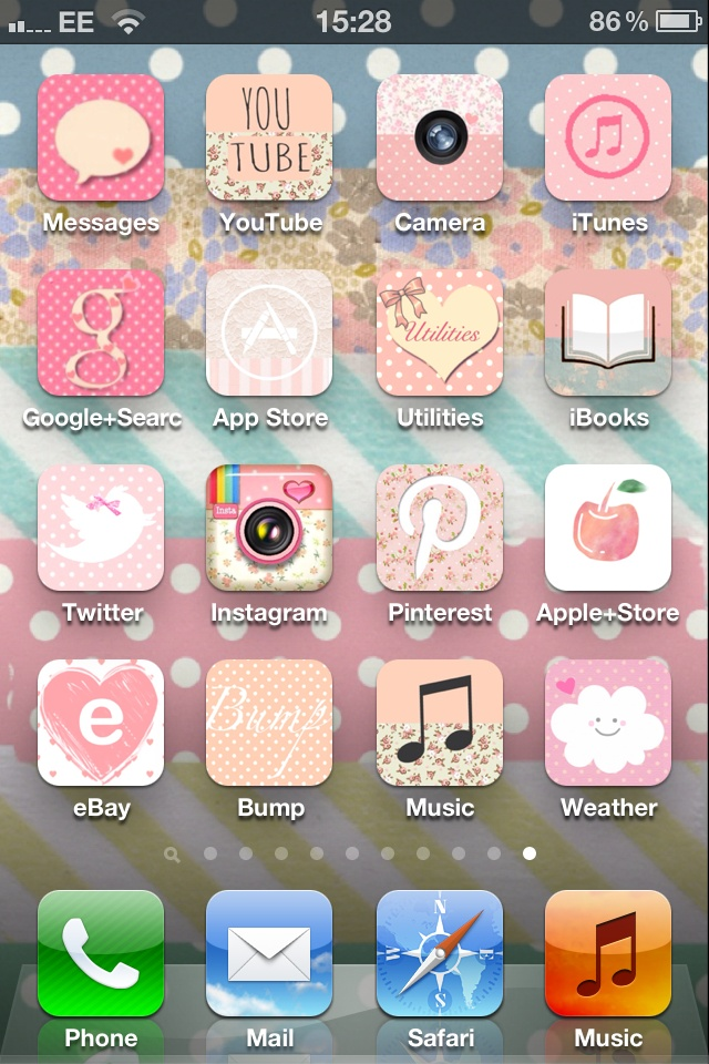 Pretty iPhone icons Cute Pinterest The app, Icons